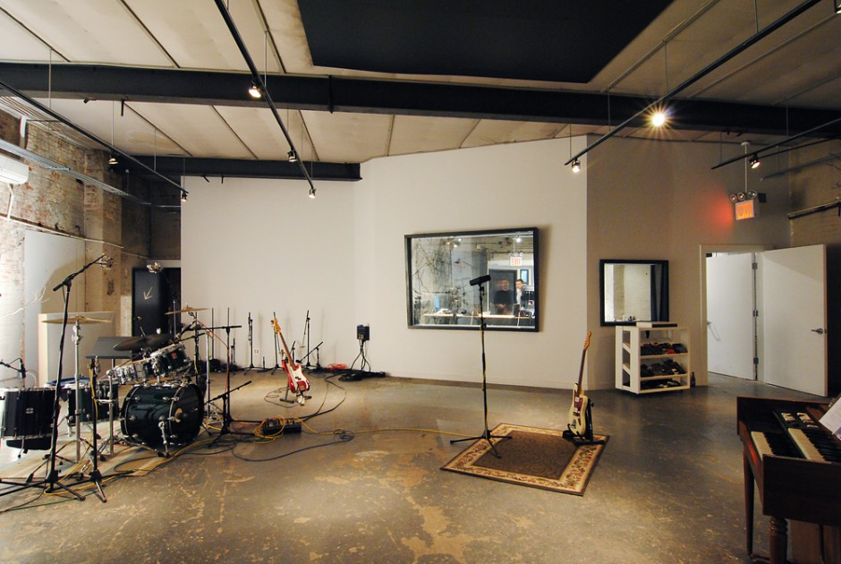 Rates studios shane michael rose for Recording studio live room design